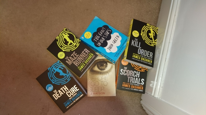 Lyndsey's Book Blog my donate pile