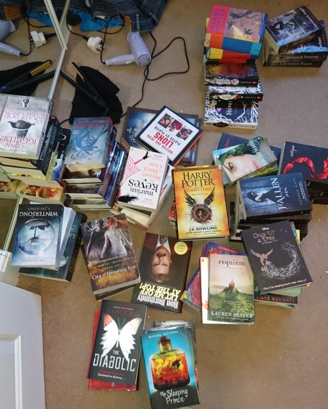 Lyndsey's Book Blog my keep pile