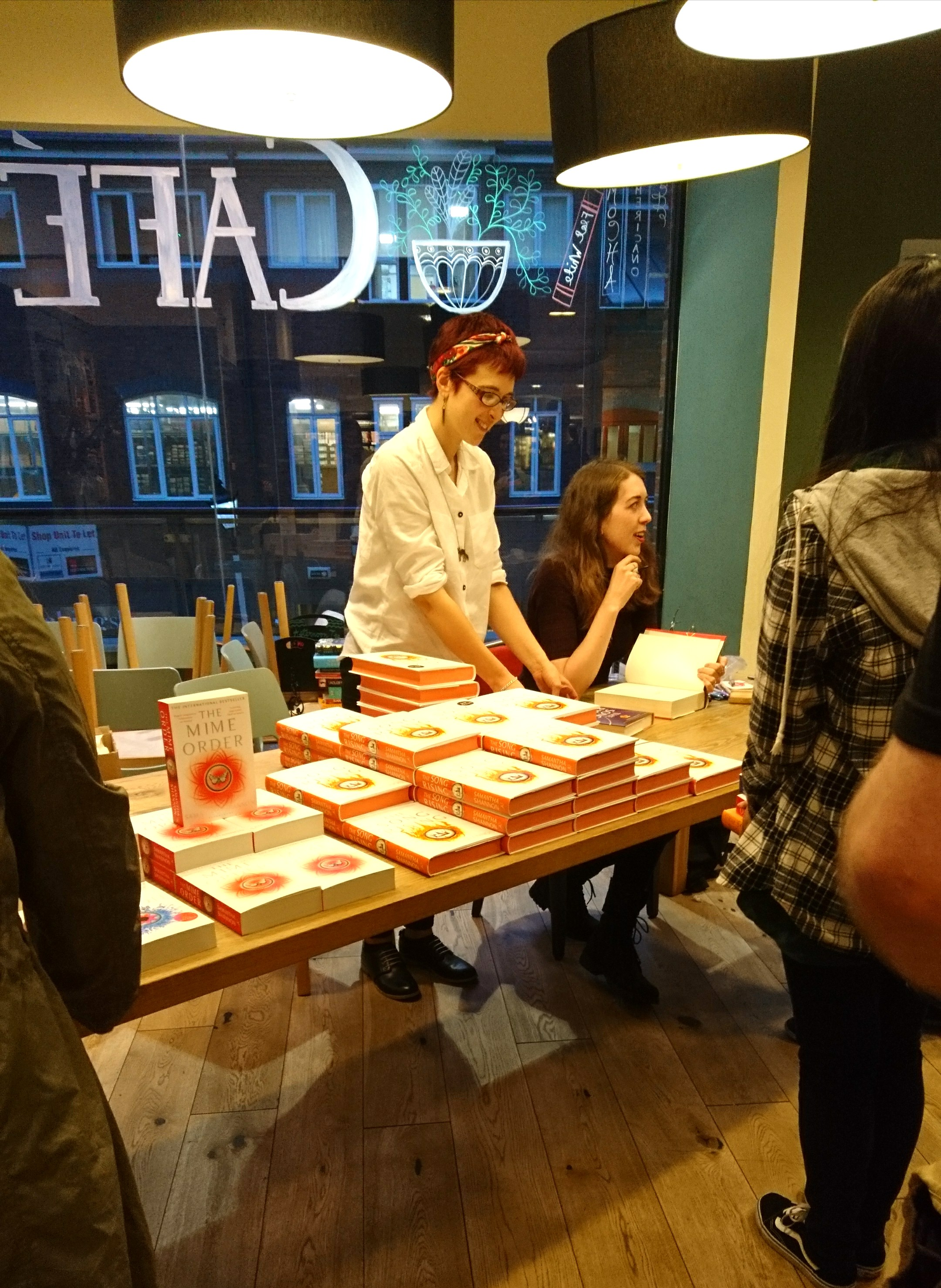 Waterstones Orchard Square Samantha Shannon