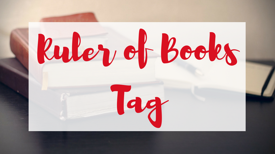 Ruler of books tag