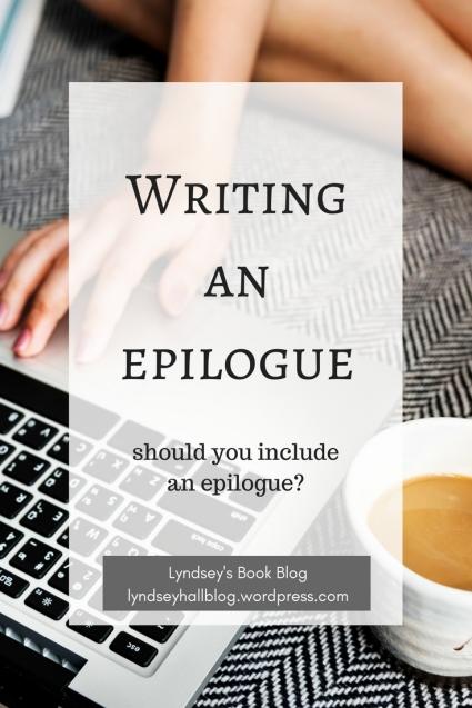 Writing an epilogue Lyndsey's Book Blog