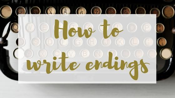 Writing endings Lyndsey's Book Blog