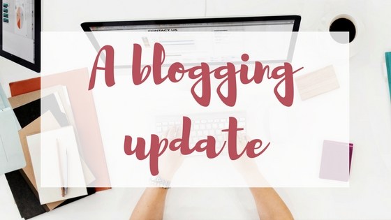 Blogging update Lyndsey's Book Blog