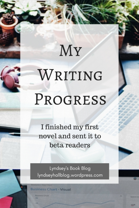 My writing progress Lyndsey's Book Blog