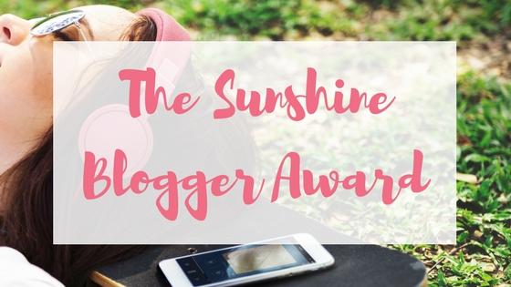 The Sunshine Blogger Award Lyndsey's Book Blog