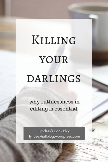 Killing your darlings Author Toolbox Blog Hop Lyndsey's Book Blog