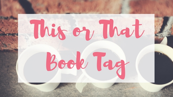 This or that tag Lyndsey's Book Blog