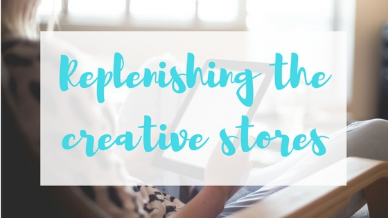 Replenishing the creative stores Author Toolbox Blog Hop Lyndsey's Book Blog